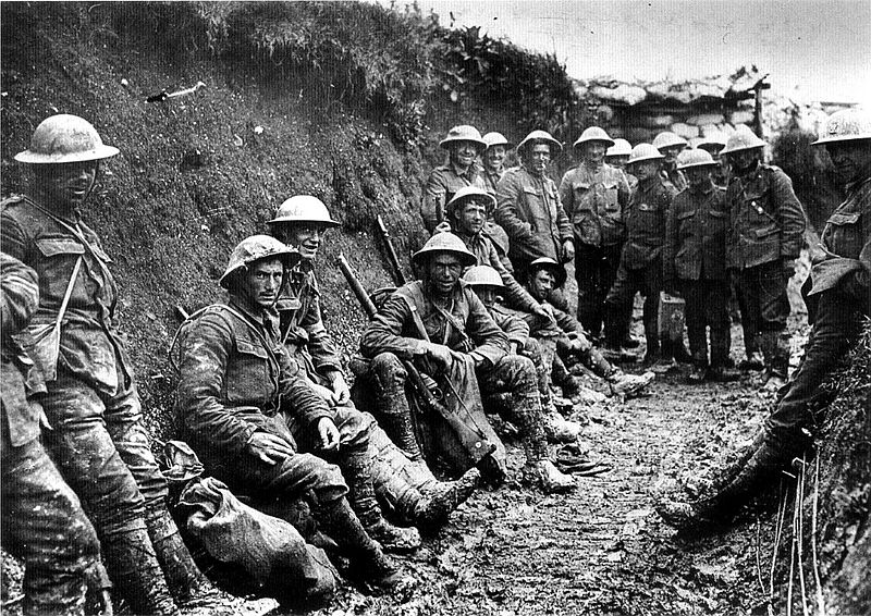 Royal Army soldiers, July 1916