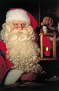 Santa - a time stretcher. Photo from www.emagine-travel.co.uk