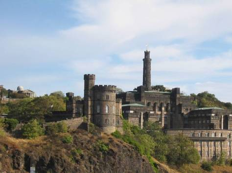 Edinburgh's historic Calton Hill