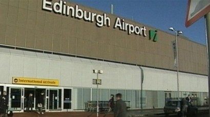 The main Terminal at Edinburgh Airport