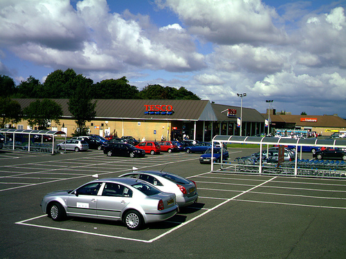 Tesco Barrhead where the events will be taking place