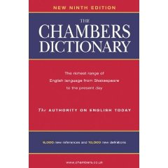 The Chambers Dictionary: Edinburgh publishers under threat.