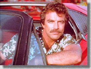 Moustache legend Tom Selleck