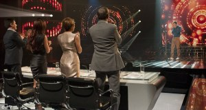 Matt Cardle receives standing ovation from the judges