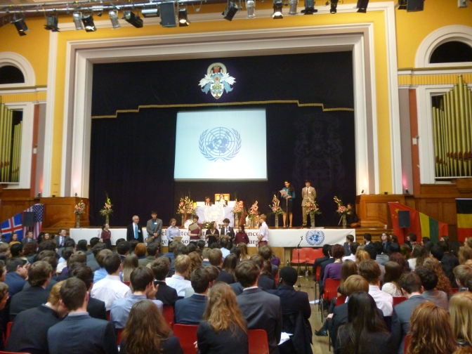 Edinburgh hosts Scotland's largest school MUN Conference