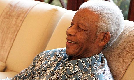 The 94 year old former president is recovering from a lung infection (Photo: Ho/Reuters)