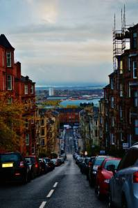Partick Hill overlooking Glasgow. The city at the heart of recent ecstasy drug scares. Credit - Martha Shardalow