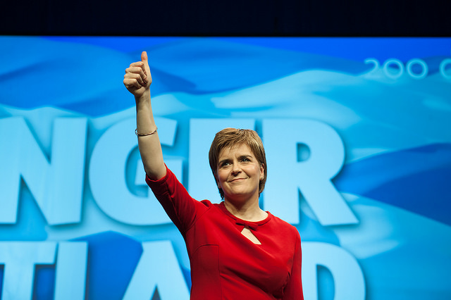Sturgeon says Yes to Brexit-vote could trigger Scottish Independence Referendum