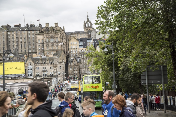 Free WiFi in Edinburgh city centre goes live