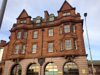 Edinburgh's former Museum of Fire at Lauriston Place that could be turned into an arts hub as part of the multi-billion pound housing investment. Photo Credit: Pau Llosa