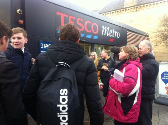Edinburgh Tesco Store denies controversial two-tiered queuing system